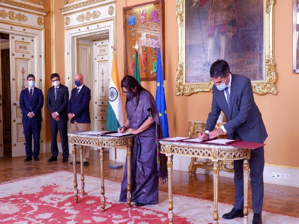 Lekhi meets Portugal's Secretary of State for International Affairs, signs agreement on recruiting Indians to work in Portugal