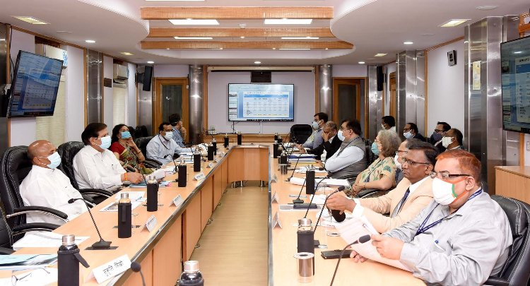 Union Minister reviews progress of capital expenditure of Steel CPSEs