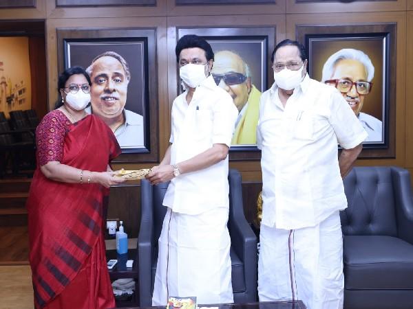 DMK nominates Kanimozhi NVN Somu, KRN Rajeshkumar for Rajya Sabha bypoll
