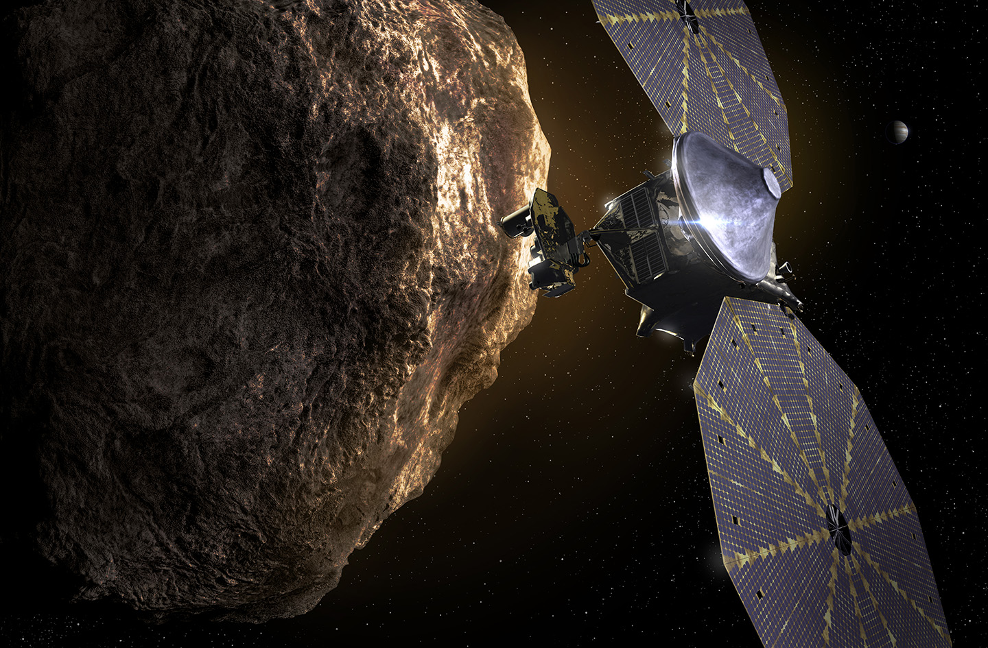 (Updated) NASA completes launch readiness review for Lucy Mission