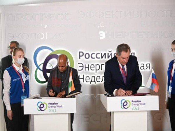Union Minister RCP Singh signs MoU on collaboration in coking coal sector with Minister of Energy of Russian Federation in Moscow