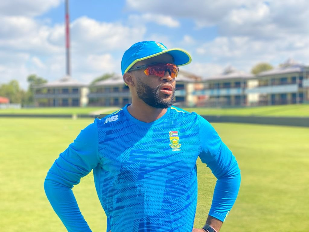 SA captain Bavuma says injured hand getting better, hopes to play in T20 WC warm-up game