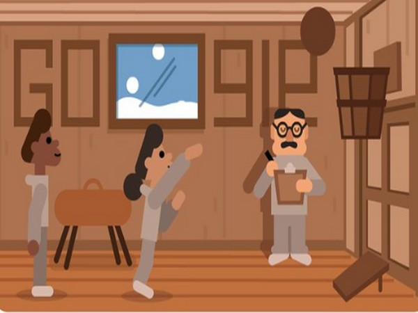 Google dedicates doodle to basketball inventor James Naismith