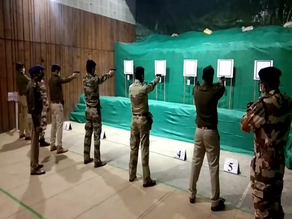 ITBP training police officers for United Nations deployments at Delhi camp