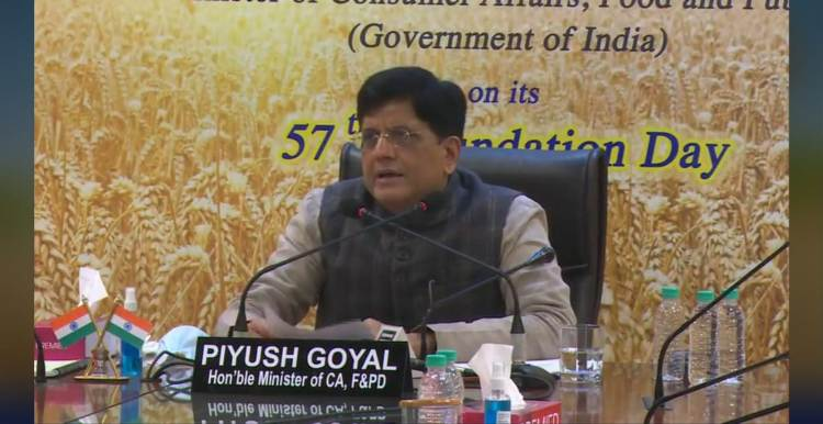 Piyush Goyal inaugurates new building of FCI's Divisional Office in Mysuru