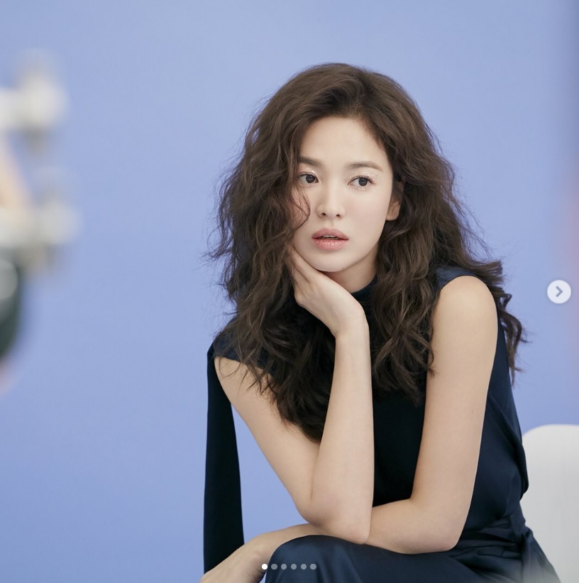 Song Hye-Kyo gives her best wishes for #Alive, beautiful actress shows her love for Nature