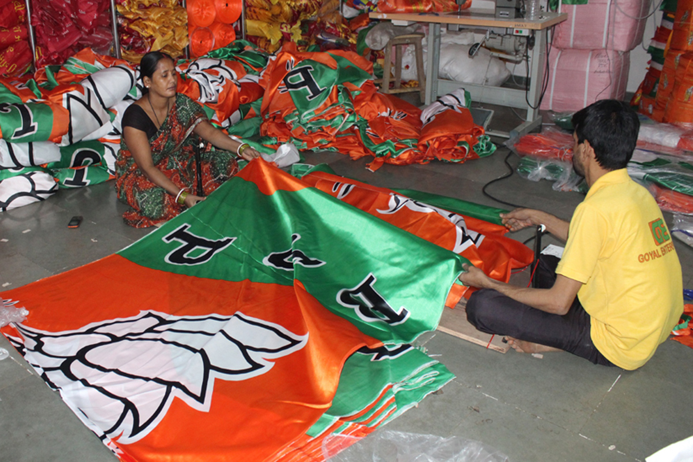 Hundreds of artists show support for BJP ahead of Lok Sabha polls