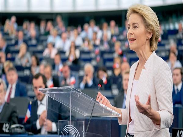 European Union's Ursula von der Leyen gets first COVID-19 jab