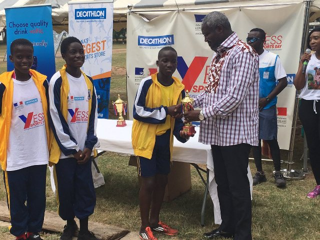 YESS event held at University of Ghana to support practice of sport
