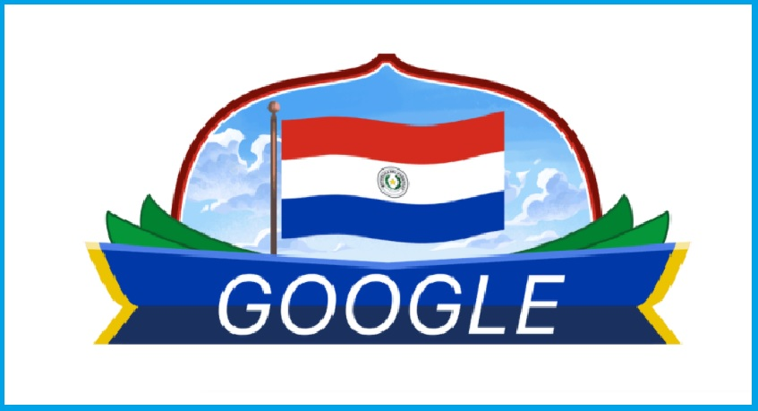 Google Doodle to commemorate National Day in Paraguay