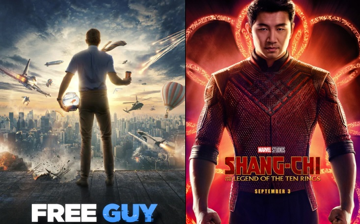 'Free Guy' & 'Shang-Chi' to run exclusively in cinemas for 45 days