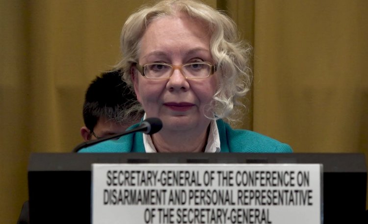 UN top diplomat urges on Disarmament for success in tackling threats to peace