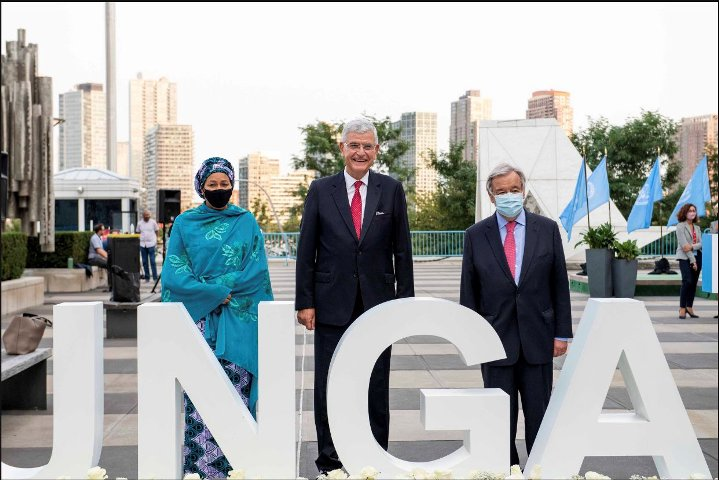 76thGeneral Assemblygets underwayat UN Headquartersin New York