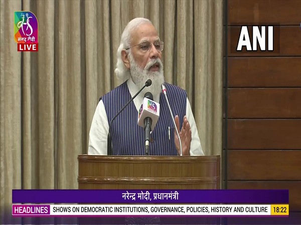 Democracy in India not just collection of streams of constitution, it is life-stream: PM Modi