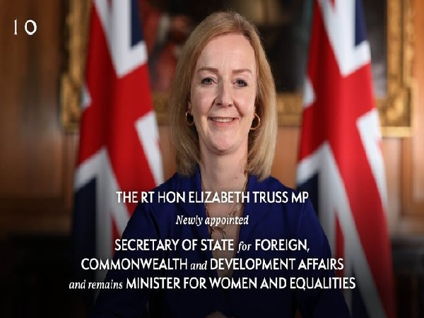 Liz Truss replaces Dominic Raab as UK Foreign Secretary