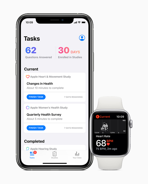 Apple's new Research app seeks to accelerate medical discoveries