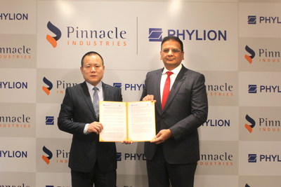 Pinnacle and Phylion Reach Strategic Cooperation in India