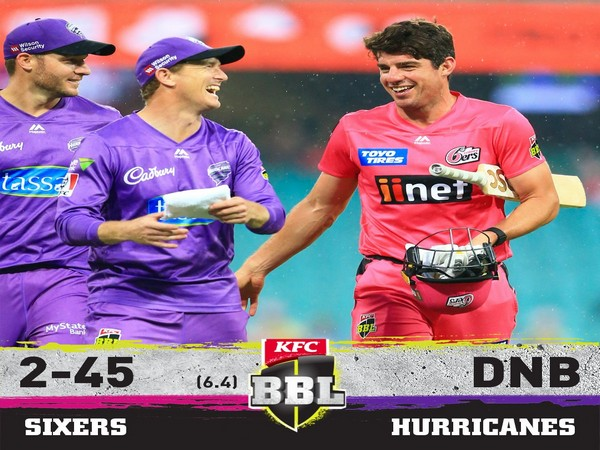 Match between Sixers and Hurricanes abandoned due to rain
