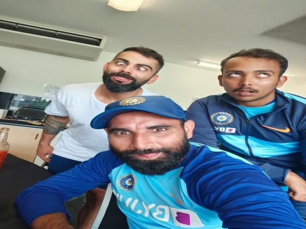 'Naya post, sundar dost': Virat Kohli posts pic with Shaw, Shami