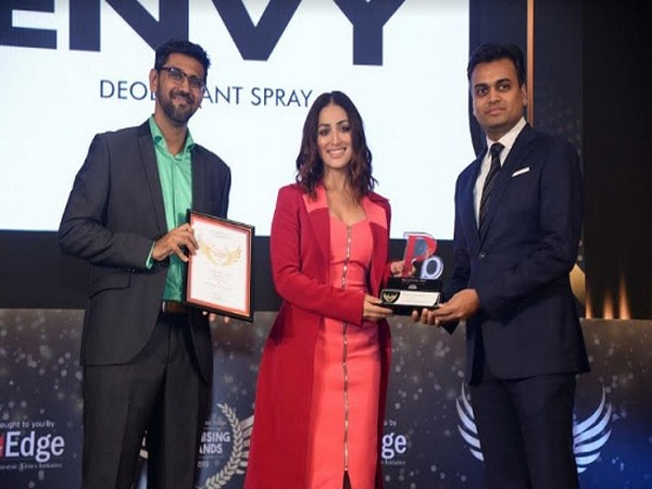 Envy Deodorants bagged the most prestigious recognition of 'The Economic Times Promising Brands 2019-2020'