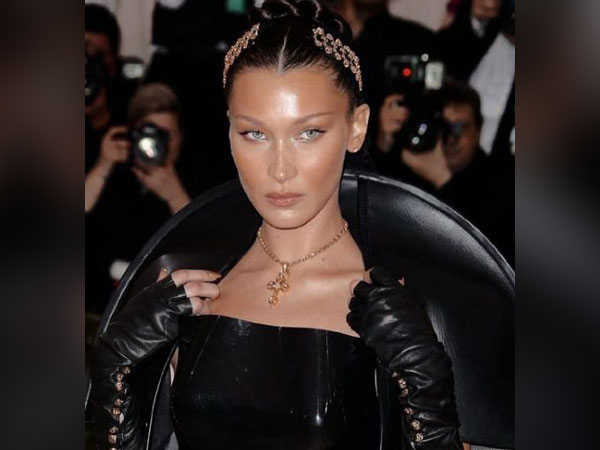 Bella Hadid joins pro-Palestine march in NYC amid Israel-Gaza conflict