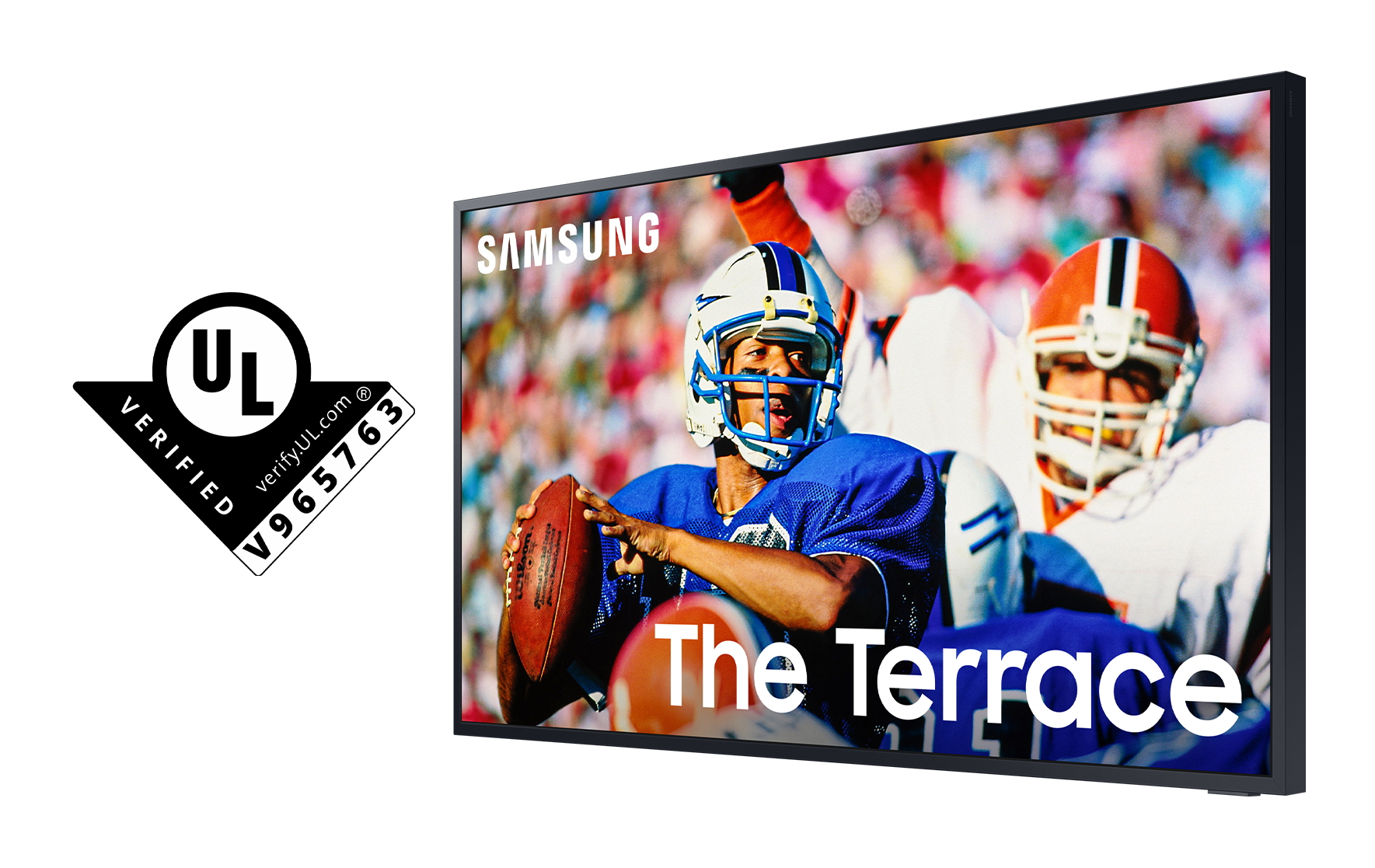 Samsung's The Terrace TV first to earn UL's outdoor visibility verification