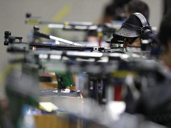 Olympics-Shooting-Steady start for Reitz's 25m rapid fire title defence