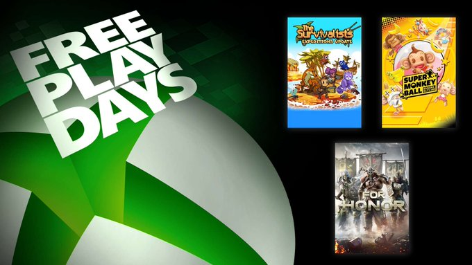Xbox makes three games free to play this weekend