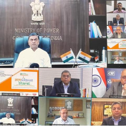 India sets target of 450 GW of renewable energy capacity by 2030: RK Singh