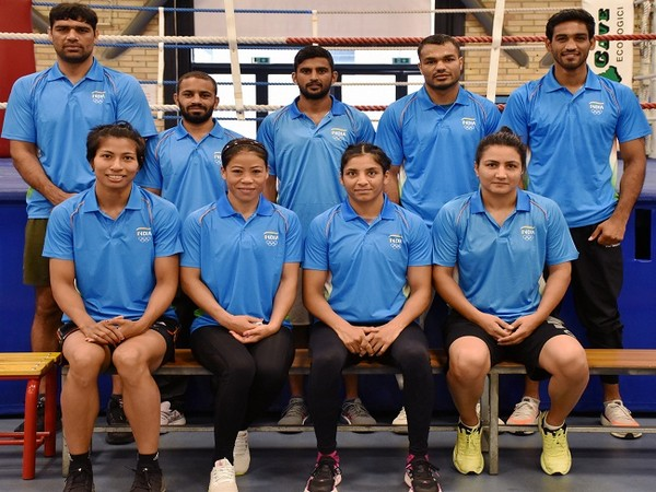 Indian Boxing Team to depart for Tokyo from Italy tomorrow
