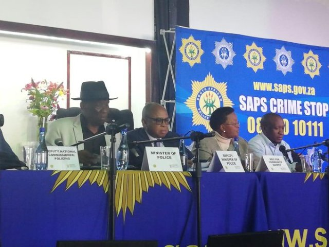 Police Minister commends group of young community crime fighters