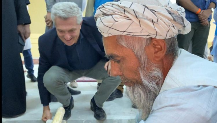 Humanitarian situation in Afghanistan remains desperate: UNHCR chief