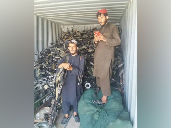 Taliban seize truck carrying arms and ammunition to Pakistan: Report
