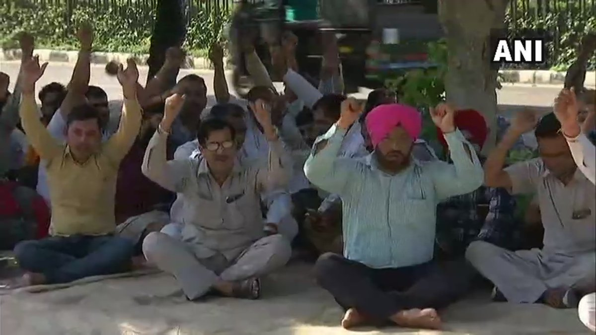 Roadways employees end 18-days-old strike in Haryana, buses start plying across state