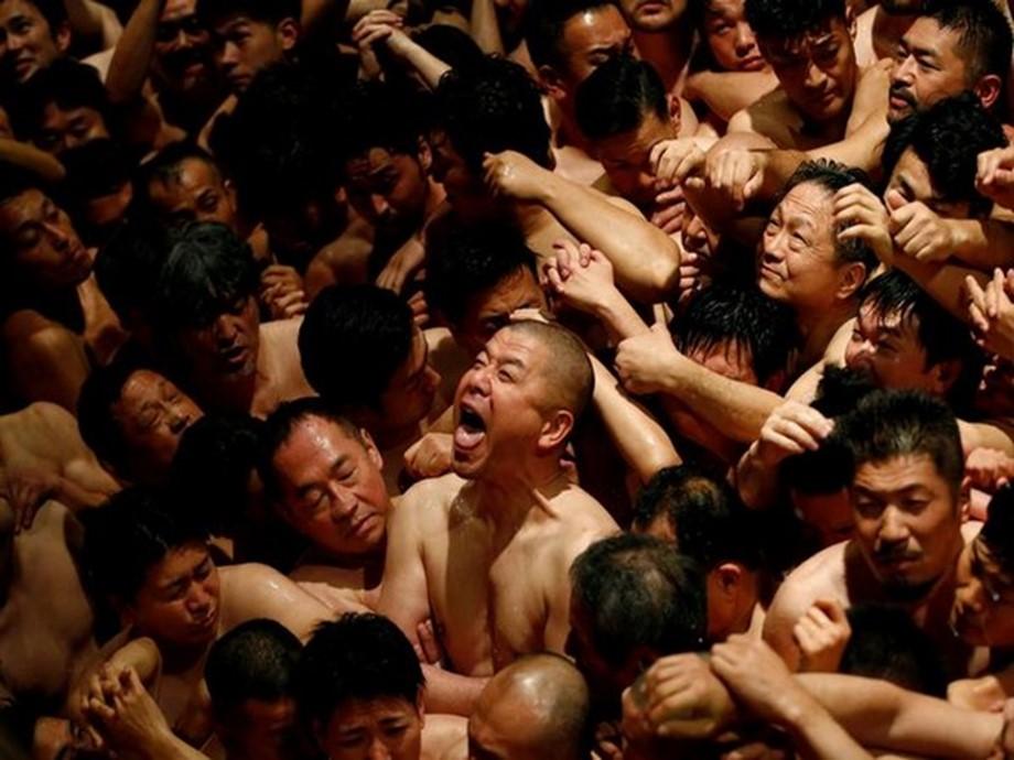 Japan prosperity rite draws thousands in loincloths despite winter cold
