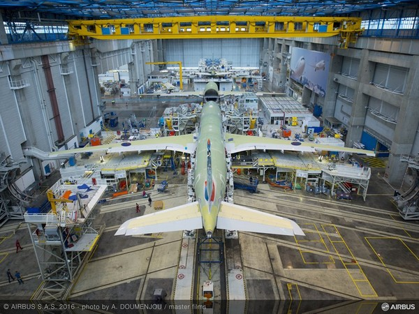 Airbus halts production in France, Spain as COVID-19 related measures are implemented