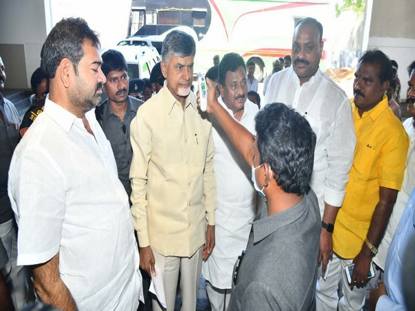 Thermal screening facility at TDP's central office in Amaravati