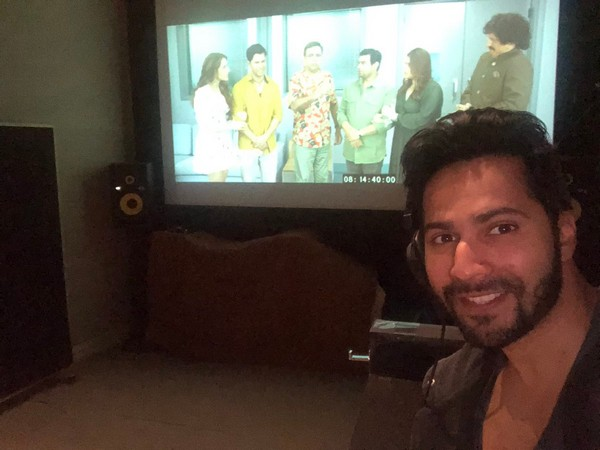 Varun Dhawan announces dubbing wrap up of 'Coolie No 1'