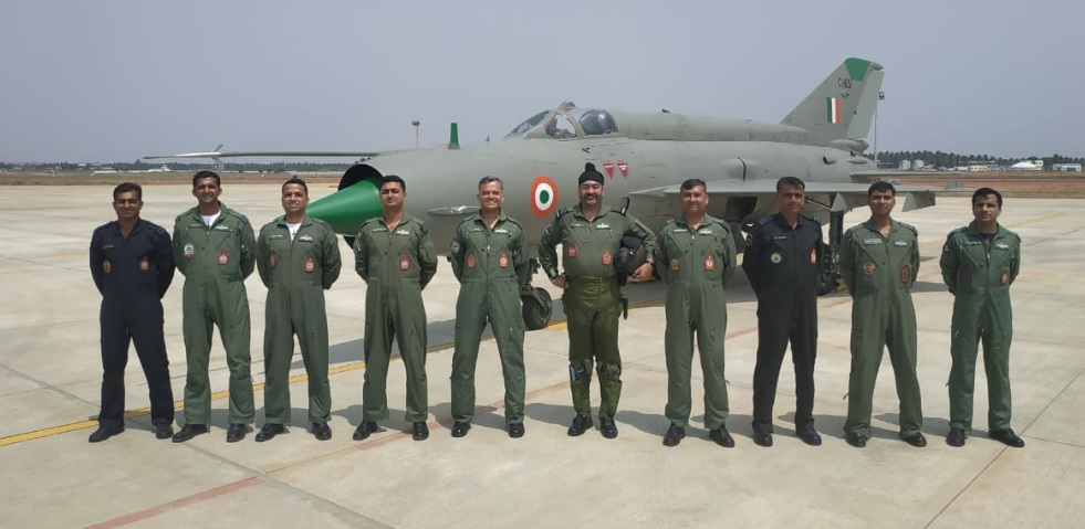Air Force Chief BS Dhanoa performs solo sortie on MIG-21 aircraft