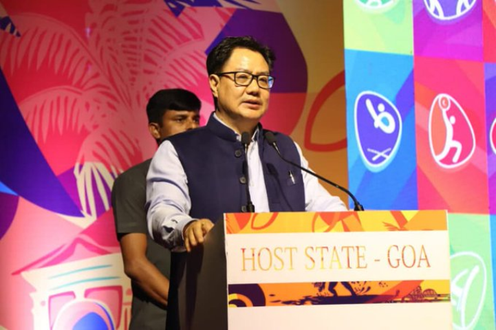 KISCE being established to boost pursuit for excellence in Olympics: Kiren Rijiju