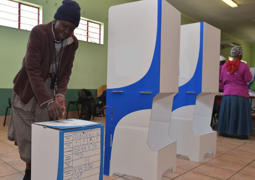 Guinea votes in election, with president seeking a third term