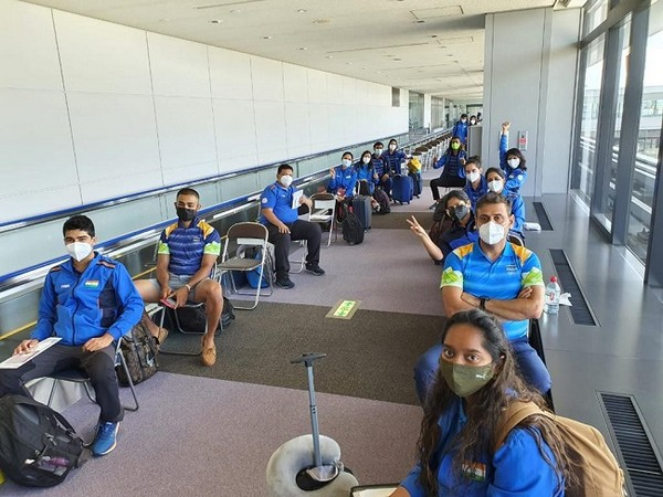 Indian shooting contingent arrive in Tokyo ahead of Olympics