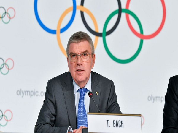 Confident Japanese people will be less aggressive when they see the athletes performing, says Bach
