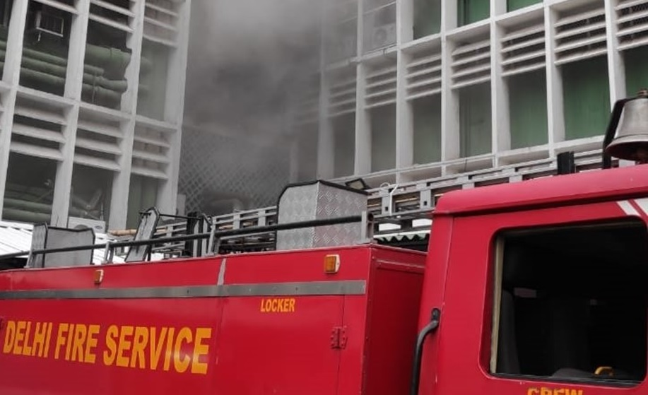 Watch: Massive fire that broke out in AIIMS spreads to fifth floor