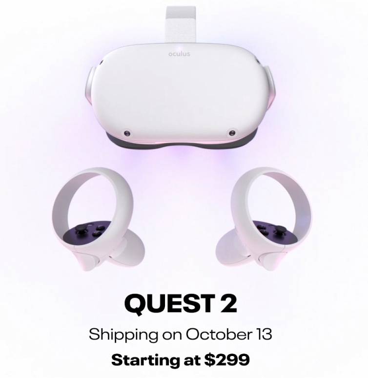 Facebook's Oculus Quest 2 available for pre-order; price starts at USD299