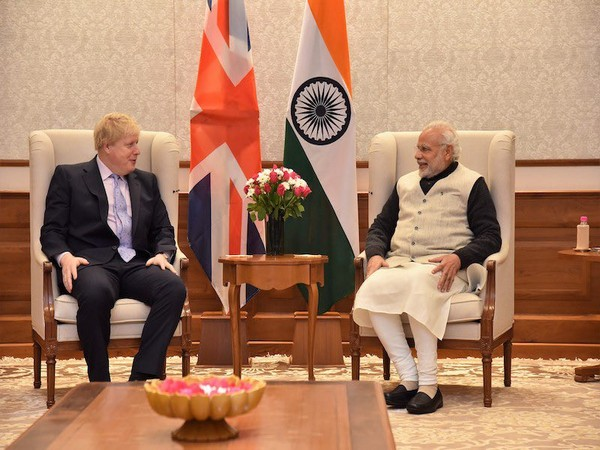 UK PM Boris Johnson wishes PM Modi on his 70th birthday