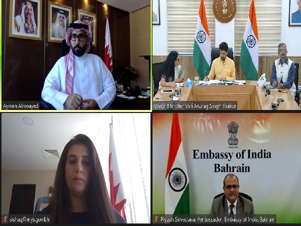 India-Bahrain partnership in sports, youth cooperation is set to strengthen further, says Anurag Thakur