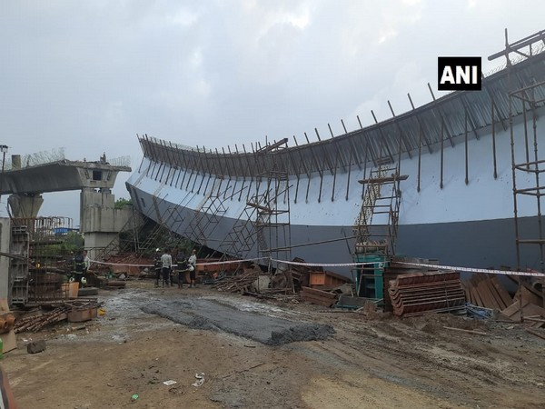Mumbai: 13 injured after portion of under-construction flyover collapsed