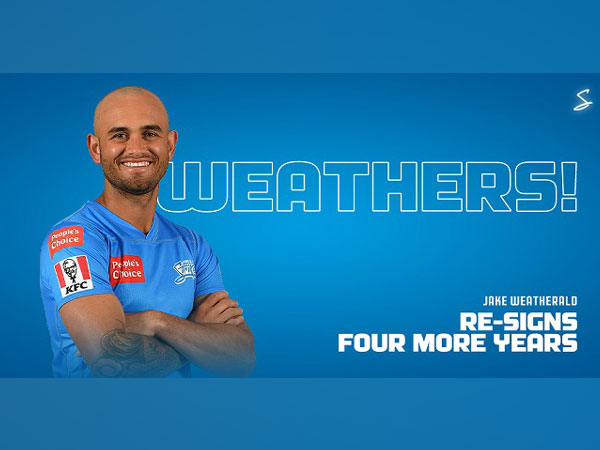 BBL: Adelaide Strikers re-sign Jake Weatherald on four-year deal