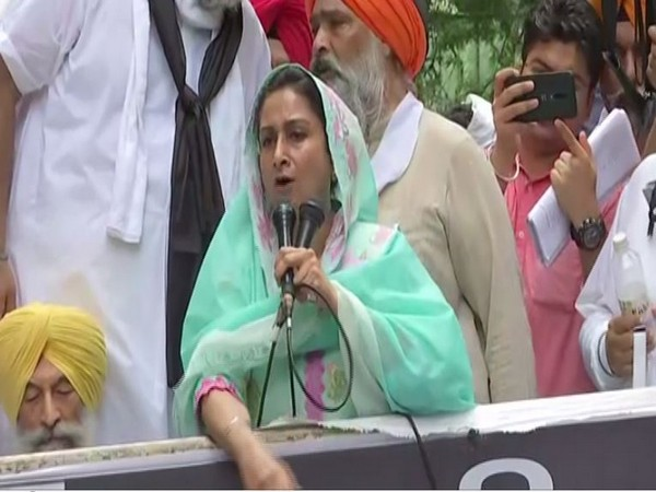 Centre has betrayed farmers by bringing in 'black' agri laws, alleges Harsimrat Kaur Badal